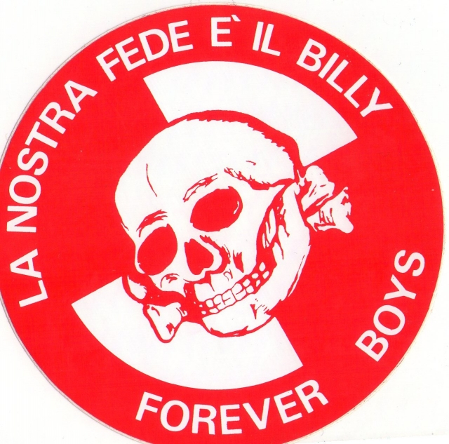 Adesivo supporters Billy Milano